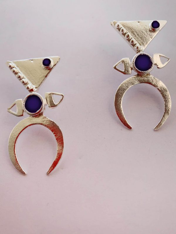earrings by Katerina Chatzipetraki