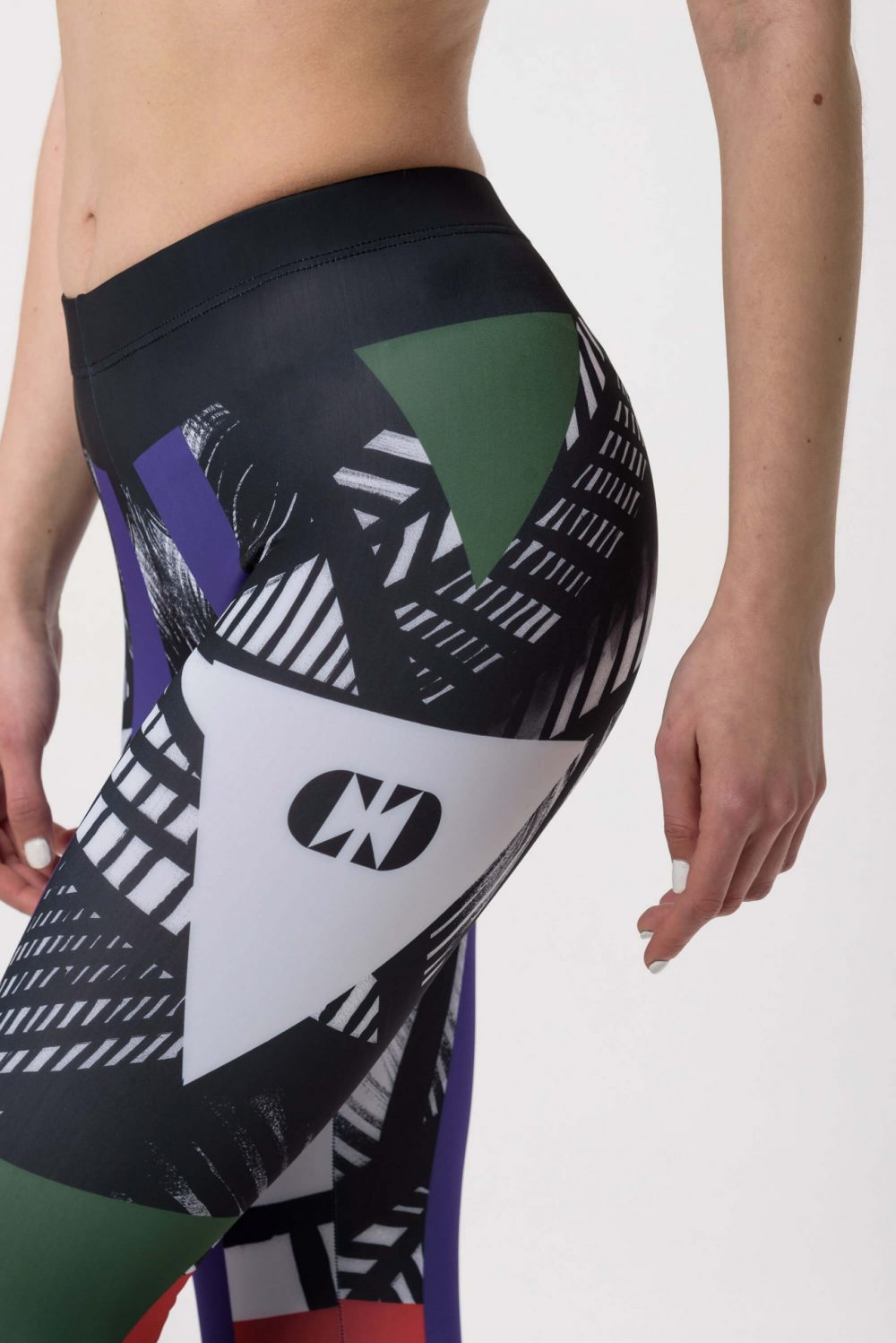 Cross Crew Purple Green Sport Set