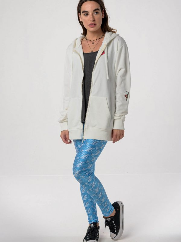 Endalaus Funky hoodie / Heartbeatink Waves leggings