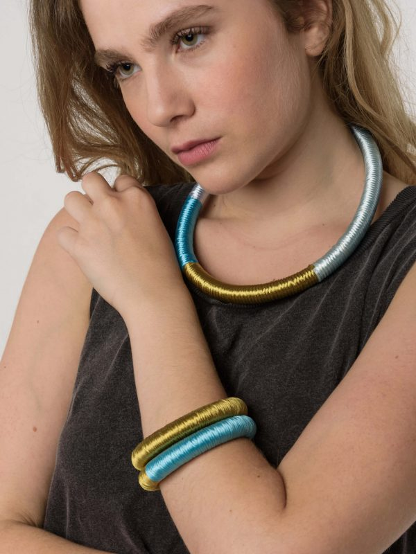 Ourania Necklace Bracelet by Anna Maria Lambert