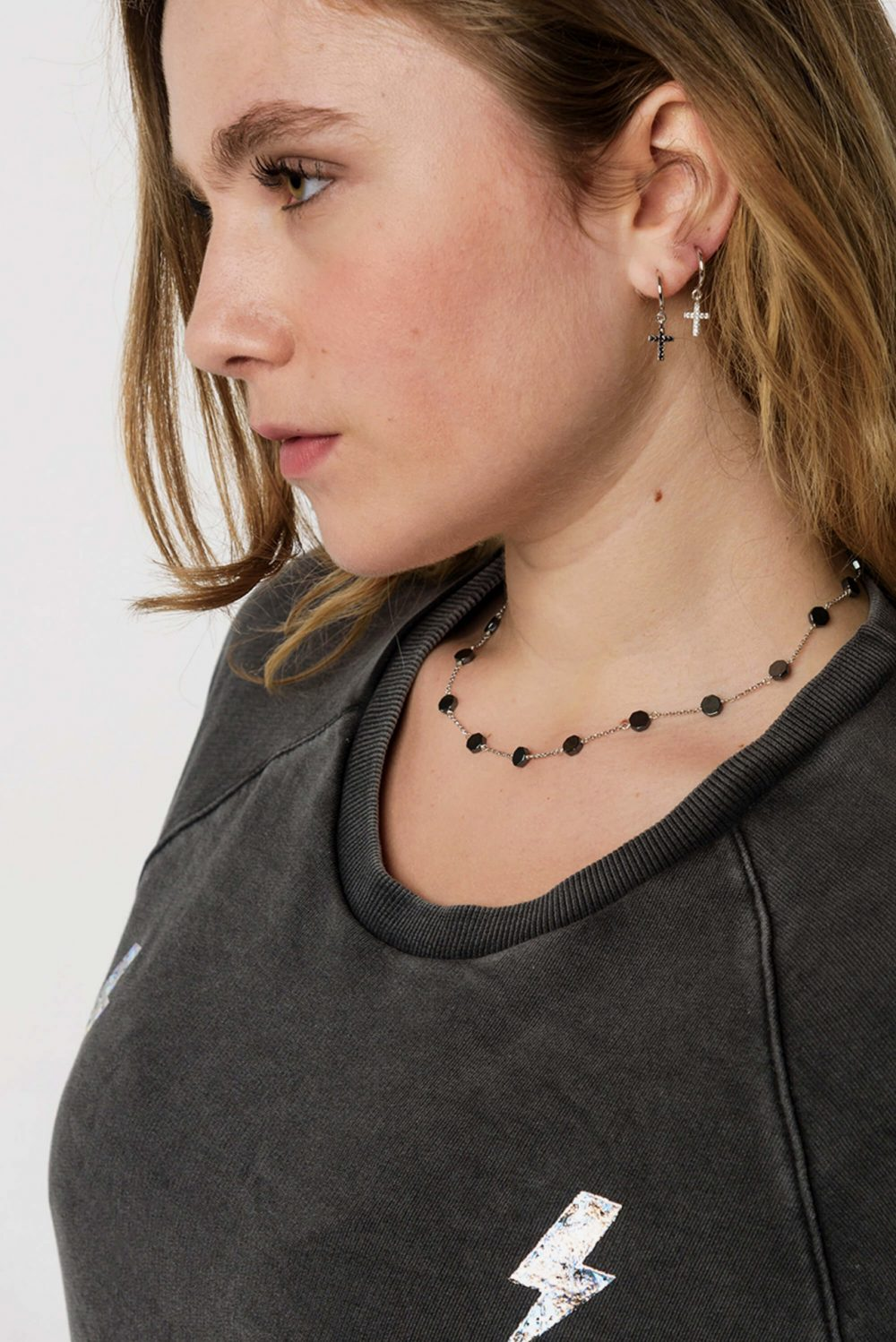 Necklace / Earrings by Dora Syrrou